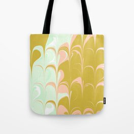 Abstract in Ice Cream Colors Tote Bag