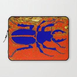 Blue Staghorn Beetle Laptop Sleeve
