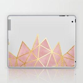 Pink & Gold Geometric Laptop & iPad Skin
