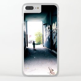 imagine your fear II Clear iPhone Case