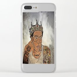 Kxng Cosby Clear iPhone Case