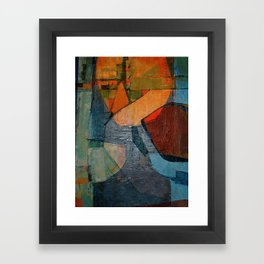 Olympic Boxing Framed Art Print