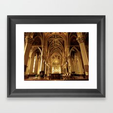 Basilica of the Sacred Heart Framed Art Print