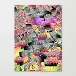 Shapes in Motion - Jongho Lee Canvas Print