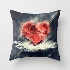 Tan Vacio Throw Pillow