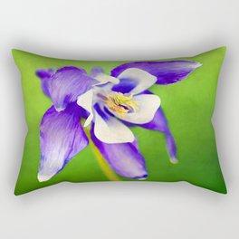 Spring Columbine Rectangular Pillow