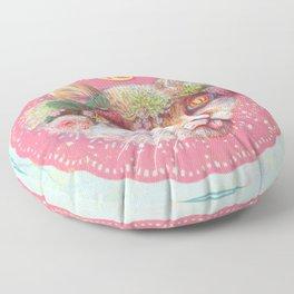 C cat Floor Pillow