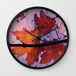 Autumn Sadness Wall Clock