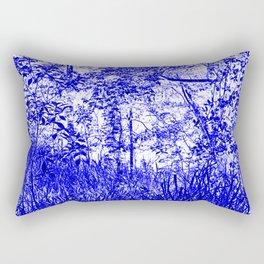 The Blue Forest Rectangular Pillow