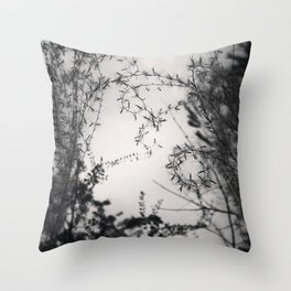 Forms Throw Pillow