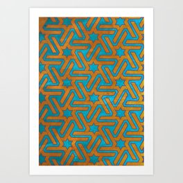 Aynadamar red Art Print