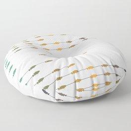 Fishettes Floor Pillow