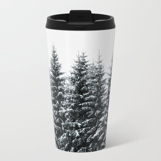The White Bunch Metal Travel Mug