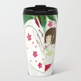 Watercolor Spirited Away - The Love Gathering Travel Mug