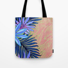 A Run Through the Jungle Blues Tote Bag
