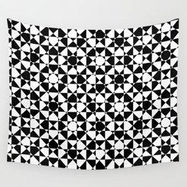 schwarz weiß kariert mz Wall Tapestry