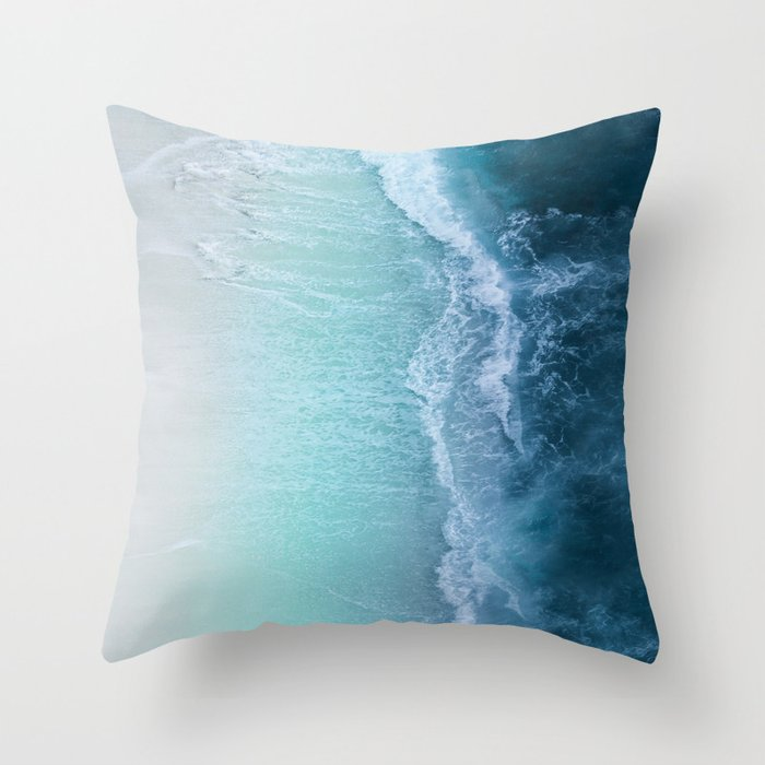 Turquoise Sea Deko-Kissen