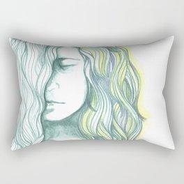The Thaw Begins Rectangular Pillow