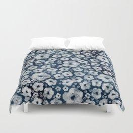 Mood indigo ditsy floral Duvet Cover