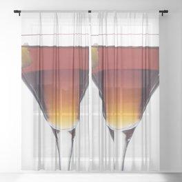 Twist Cocktail Sheer Curtain