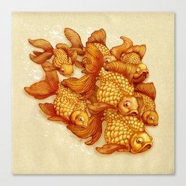 Goldfish on the Go Canvas Print