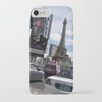las vegas iPhone & iPod Cases featuring Vegas by MariaFalkenbach
