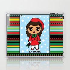Christmas Loteria La Dama Laptop & iPad Skin