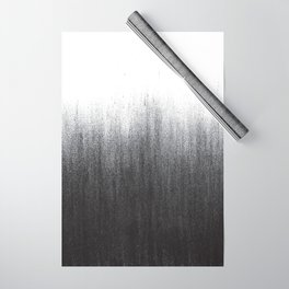 Charcoal Ombré Wrapping Paper