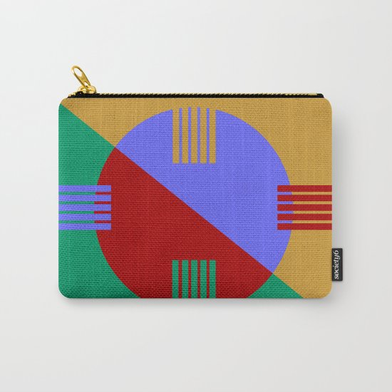 Abstract #57 Carry-All Pouch