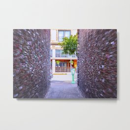 Emergency Exit Bubblegum Alley San Luis Obispo Metal Print