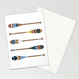 Painted Oars Stationery Cards