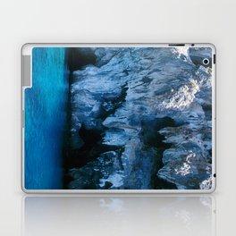 NATURE'S WONDER #3 - BLUE GROTTO #art #society6 Laptop & iPad Skin