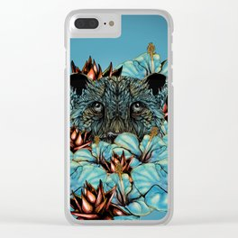 The Tiger and the Flower Clear iPhone Case
