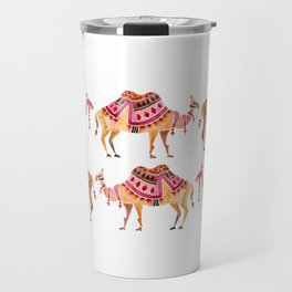 Camel Train Travel Mug