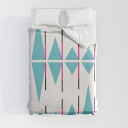 Infographic Selection #2 Duvet Cover