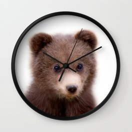 Bear Cub Wall Clock