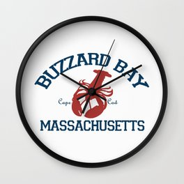 Buzzards Bay, Cape Cod Wall Clock