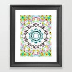 eclectic summer prints Framed Art Print