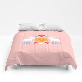 Daffodil Bunnies Comforters