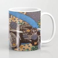 car Mugs featuring Car by Aimee Alexander