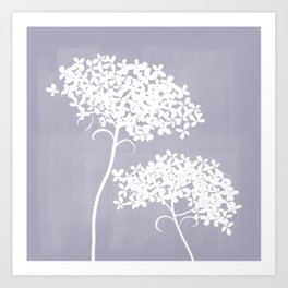 Queen Anne's Lace PGrey Art Print