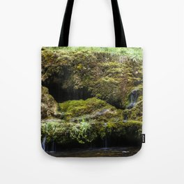 The Staburags cliff of Rauna Tote Bag