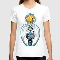 skyfall T-shirts featuring Cosmic Skyfall Dragon by Pr0l0gue