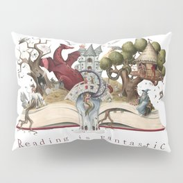 Reading is Fantastic Pillow Sham