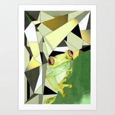 Tree Frog. Art Print