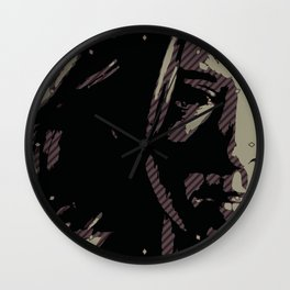 Dark Willow Wall Clock