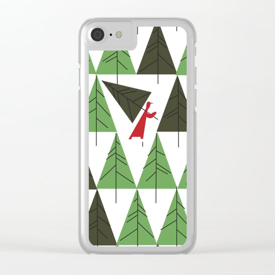 The Joy Of Christmas Clear iPhone Case
