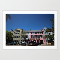 Charleston Colors Art Print