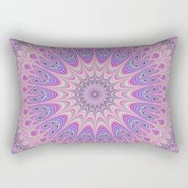 Beautiful detailed Mandala pink purple #mandala Rectangular Pillow