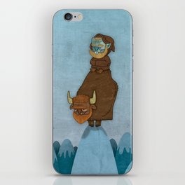 Man of the Mountains iPhone Skin